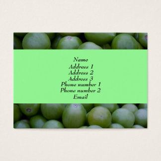 Green tomatoes business card