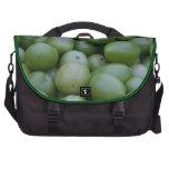 Green tomatoes laptop bag