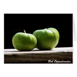 Green Tomatos Card