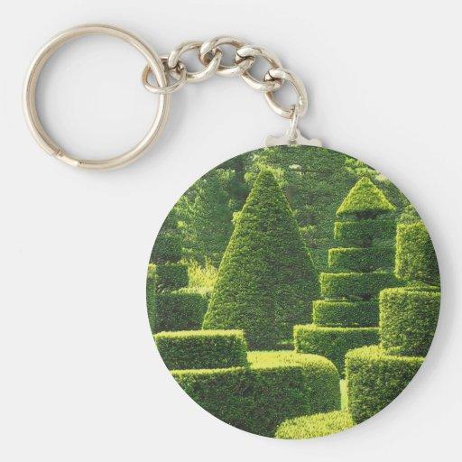 Green Topiary - Keychain
