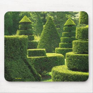 Green Topiary - Mousepad