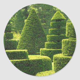 Green Topiary - Sticker