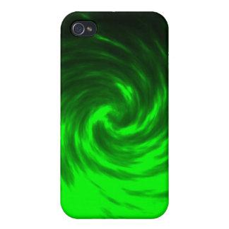 Green Tornado iPhone 4 Case