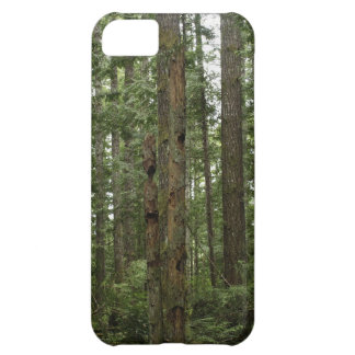 Green Totem Tree Forest Nature Scene Case For iPhone 5C