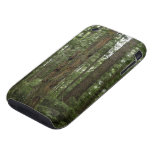 Green Totem Tree Forest Nature Scene iPhone 3 Tough Cover