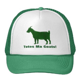Green Totes Ma Goats Watercolor Hat