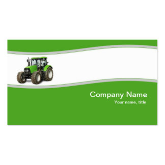 Green Tractor - Farm Supply Business Card