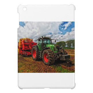 Green Tractor & Grain mixer iPad Mini Case