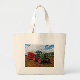 Green Tractor & Grain mixer jumbo tote