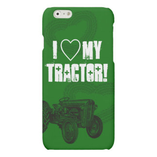 Green Tractor Love iPhone 6/6 Plus Case