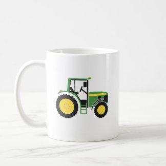 Green Tractor Mug