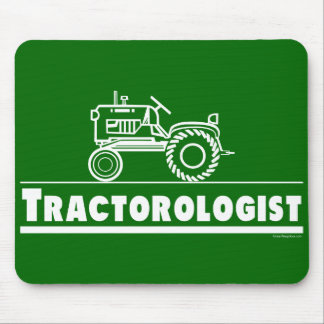 Green Tractor Ologist Mouse Pad