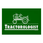 Green Tractor Ologist Print