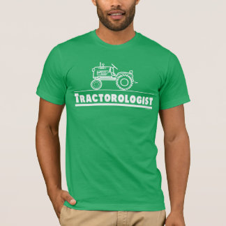 Green Tractor Ologist T-Shirt