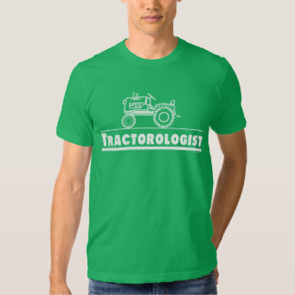 Green Tractor Ologist Tee Shirt