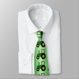 Green Tractor Tie