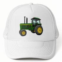 Green Tractor Trucker Hat