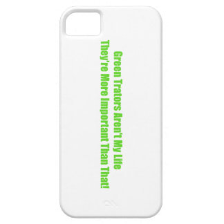 Green Tractors Arent My Life Theyre More Important iPhone SE/5/5s Case