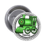 Green Train Button