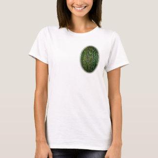 Green translucent beads T-Shirt