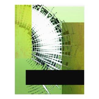 Green Transparent Template Flyer