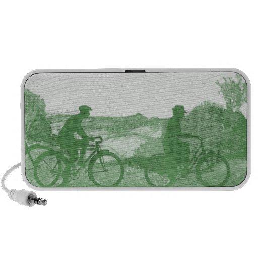 Green Transportation : Bicycles iPhone Speaker