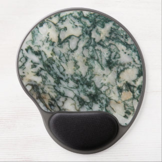 Green Tree Agate Pattern Gel Mouse Pad