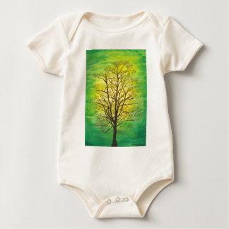 Green Tree Baby Creeper
