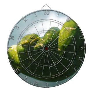 Green Tree Boa Dartboard