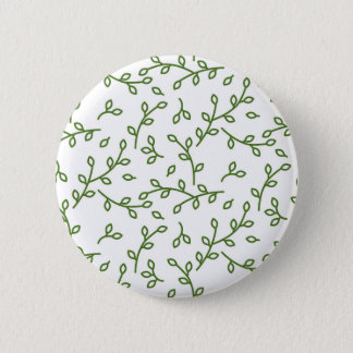 Green tree branches button