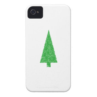 Green Tree Christmas Fir Evergreen Tree iPhone 4 Case-Mate Cases