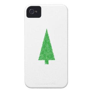 Green Tree. Christmas, Fir, Evergreen Tree. iPhone 4 Cover