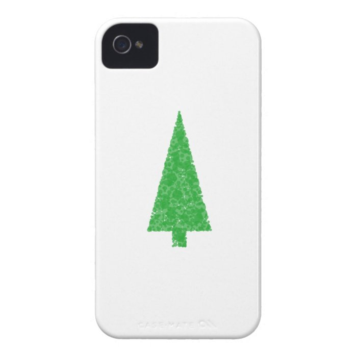 Green Tree. Christmas, Fir, Evergreen Tree. iPhone 4 Cover