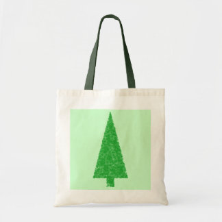 Green Tree. Christmas, Fir, Evergreen Tree. Tote Bag
