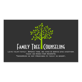 Family tree business cards templates zazzle for Family business cards