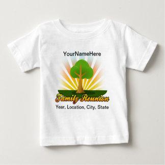 Green Tree Family Reunion Logo Baby T-Shirt