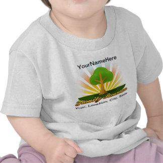 Green Tree Family Reunion Logo T-shirts
