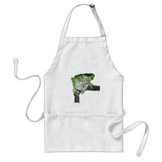 green tree frog adult apron