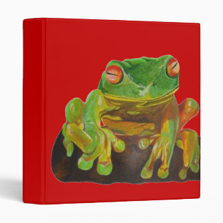 Green Tree Frog Binder