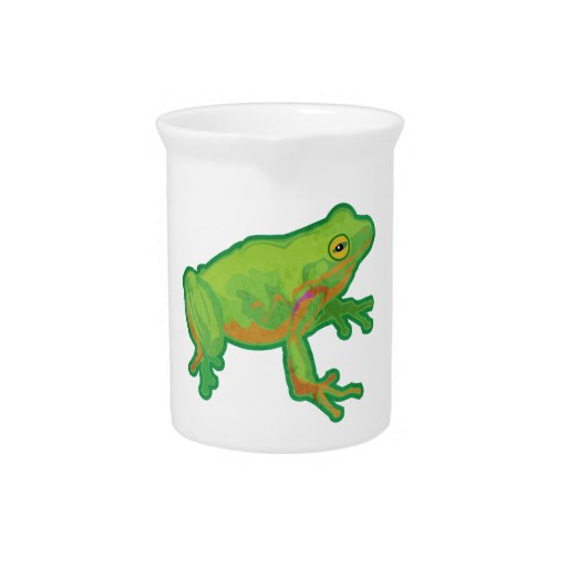 Green Tree Frog Drink Pitchers