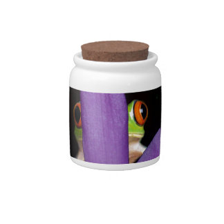 Green_Tree_Frog,_Peekaboo, Candy Dishes