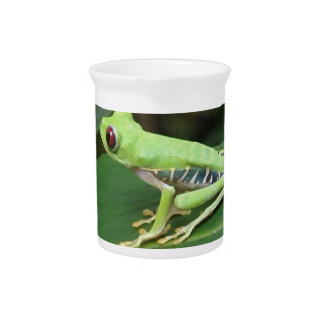 Green Tree Frog Pitcher
