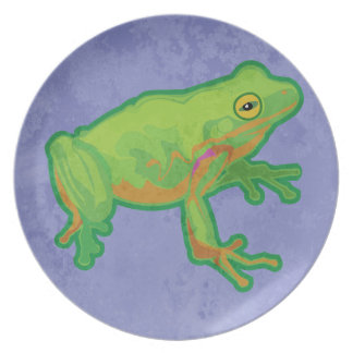 Green Tree Frog Plates