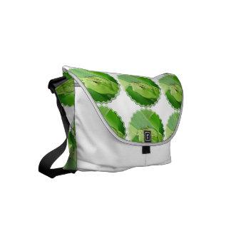 Green Tree Frog Small Messenger Bag