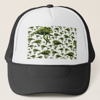 Green Tree Frogs Trucker Hat