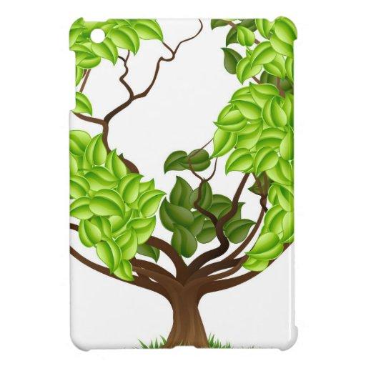 Green Tree Globe Earth World Concept iPad Mini Cover