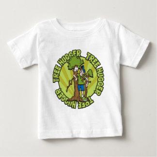 Green Tree Hugger Baby T-Shirt