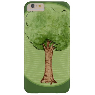 Green tree hugger barely there iPhone 6 plus case