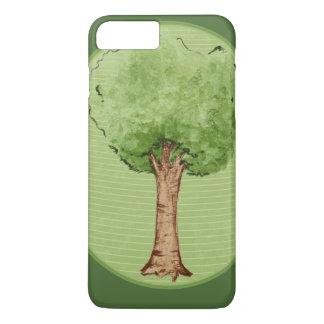 Green tree hugger iPhone 8 plus/7 plus case