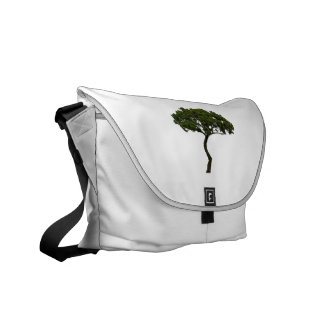 Green tree informal upright photograph courier bag